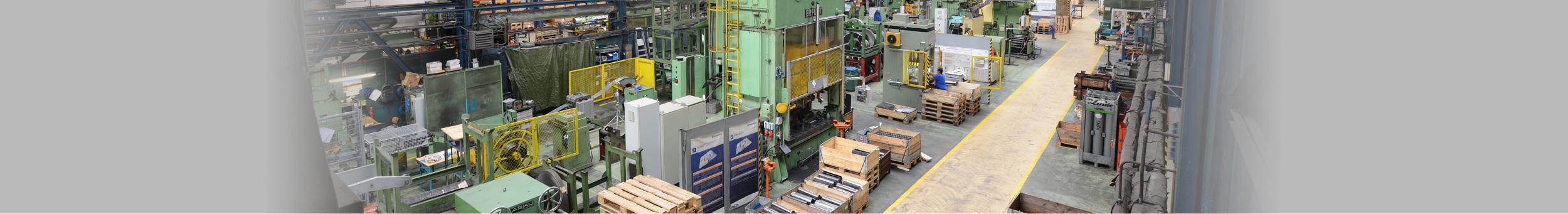 Pressing and machine shop